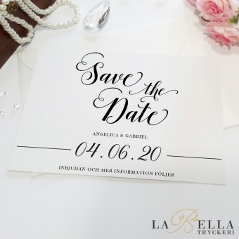 Save the Date Modern Flow
