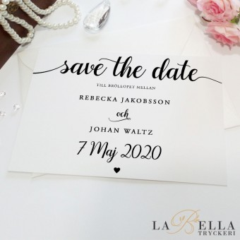 Save the Date Longing